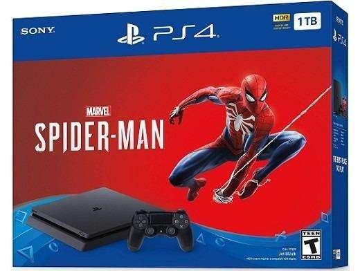 Ps4 1tb Spiderman Edition Nueva