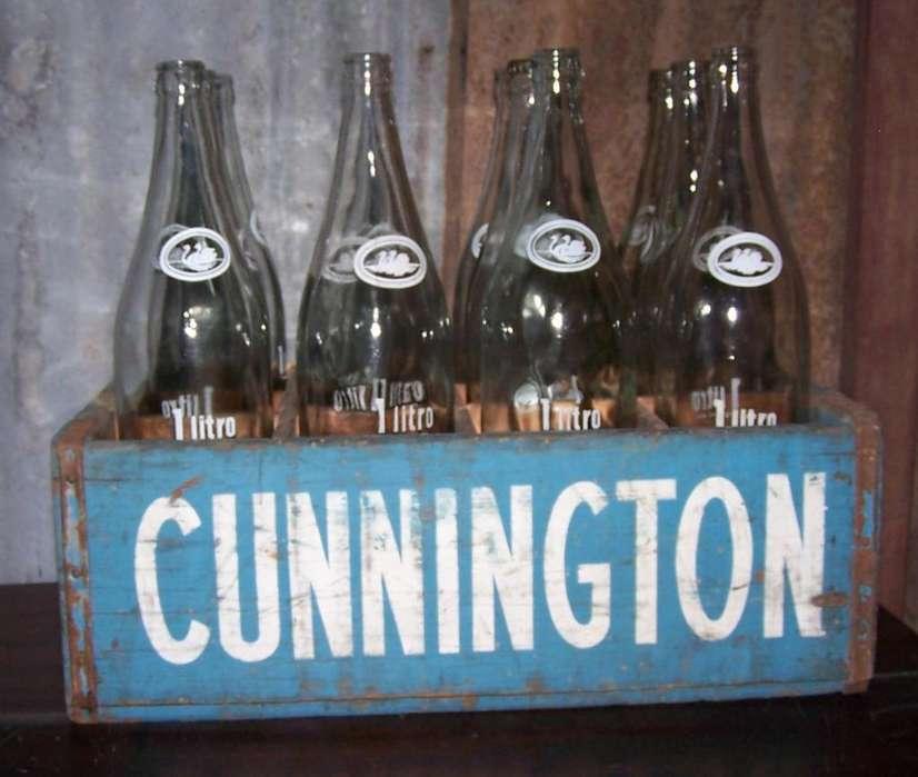 Cajon Gaseosa Cunnington Con Botellas Neuss No Cocacola
