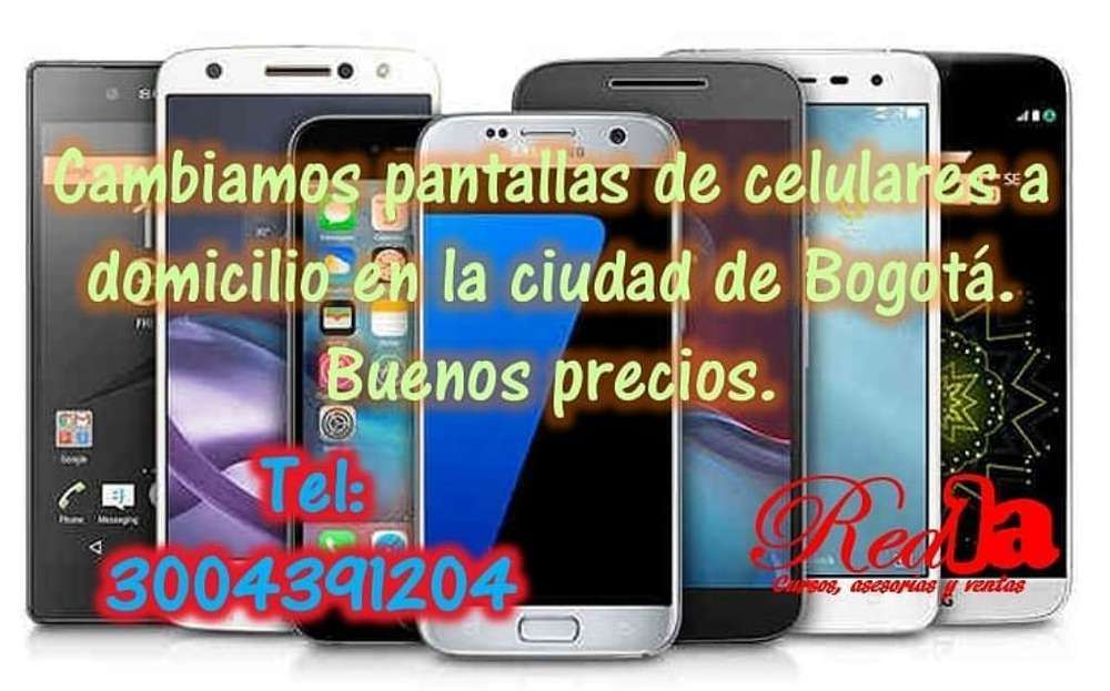 Pantalla iPhone Samsung Huawei Domicilio