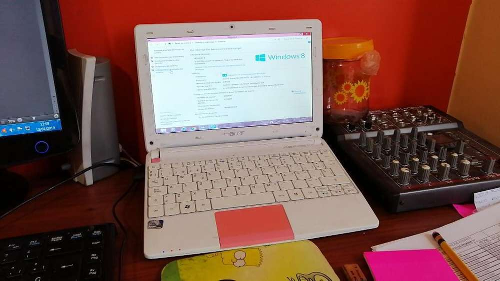 Vendo <strong>laptop</strong> Hp Rosada