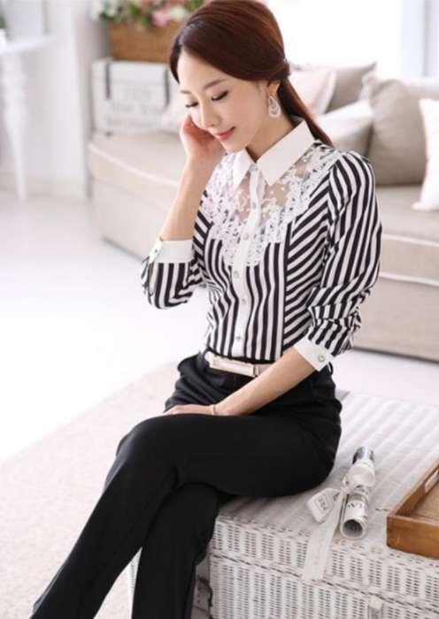Blusa Talla Pluz Xxxl moda Corea
