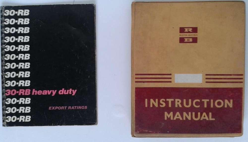 Bucyrus 30rb Heavy Duty Manual