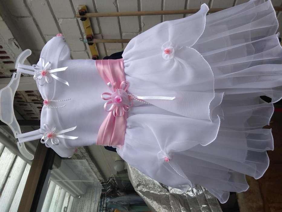 Vestido elegante/ Bautizo niña de 7 a 12 meses
