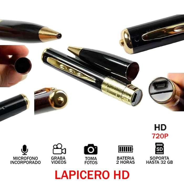 Lapicero Camara Video Espía Hd 720p 2h Oculta 32gb