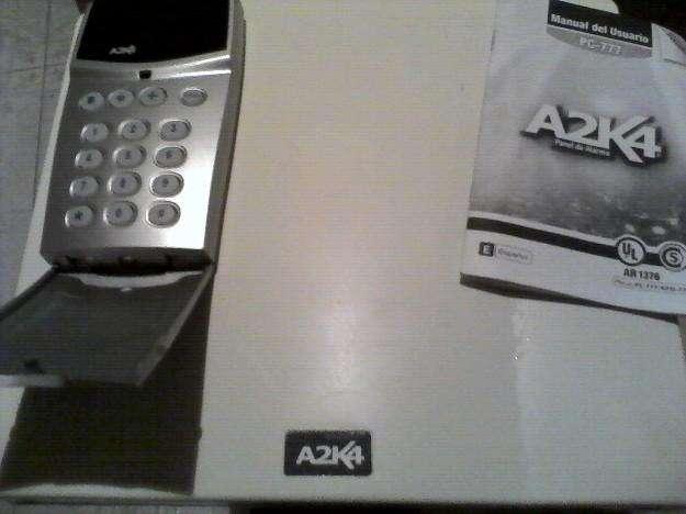 Vendo tres alarmas alonso A2K4 central con llamador telefonico y teclado nuevos