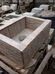 Pileta de cemento para cocina o baño