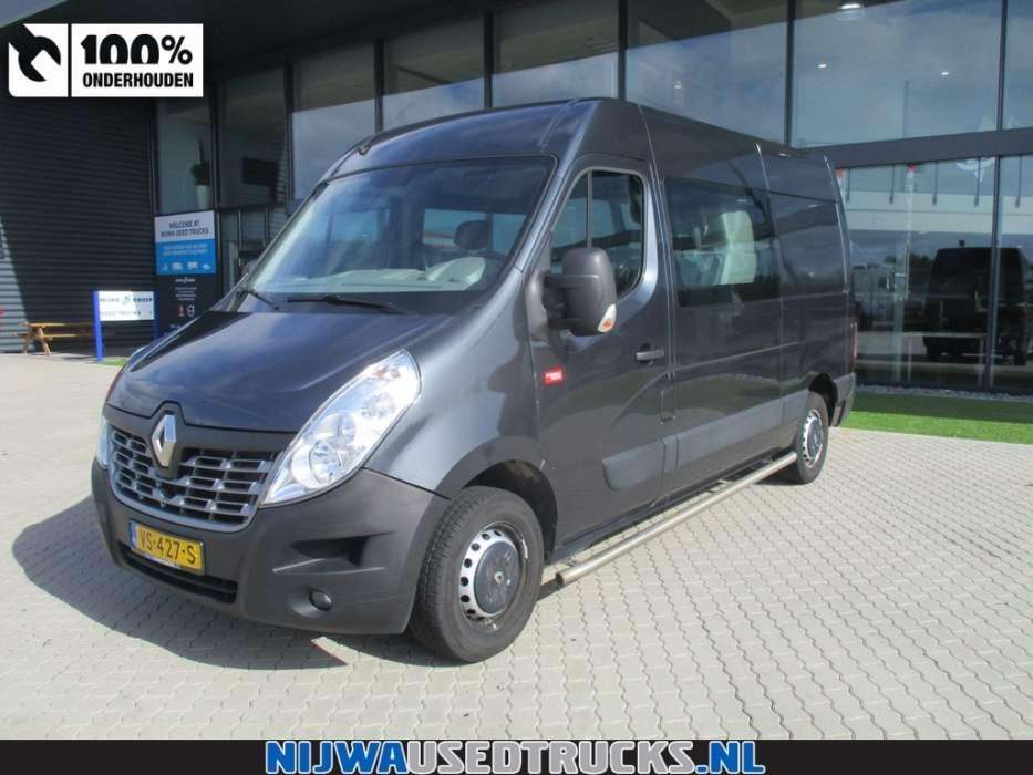 Renault Master T35 150 L2H2 DC - To be Imported