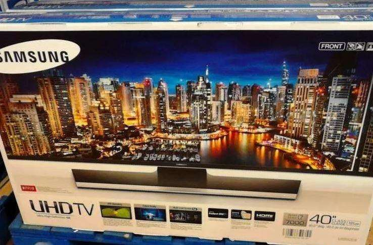 40HU7000 Samsung Led 40 Smart Tv4k Ultra UHDPIPWIFIUSB 3.0Control por voz...