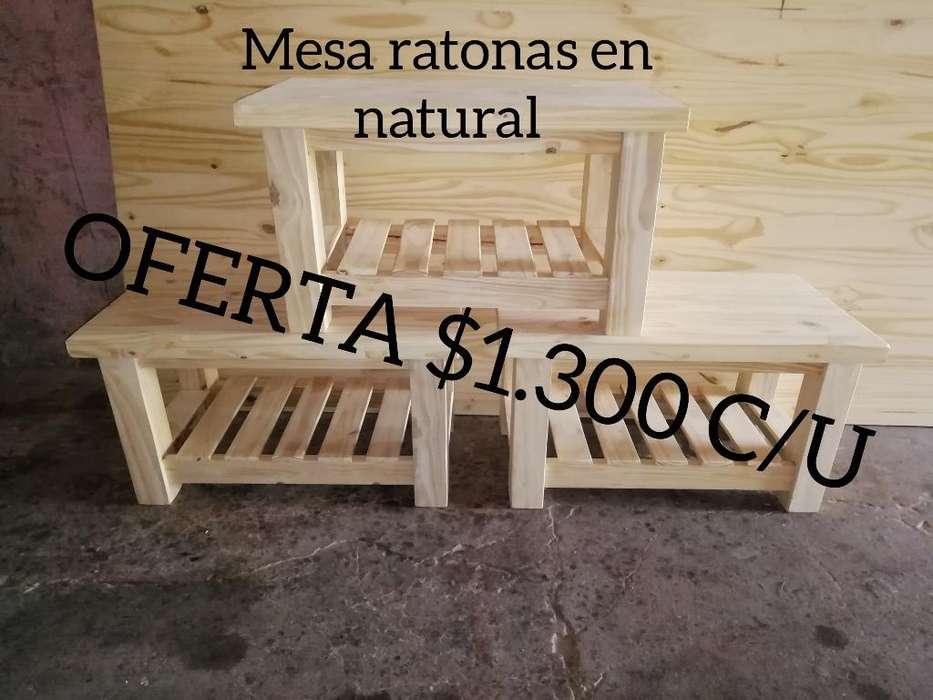 <strong>mesa</strong> Ratona Reforzadas