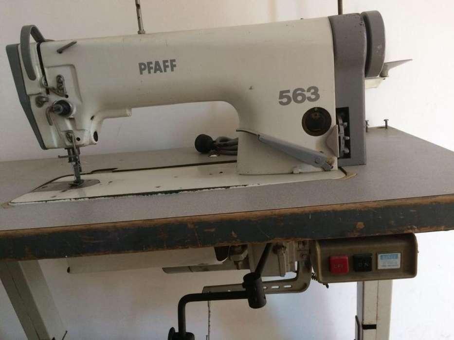 Maquina Industrial Plana Pfaff 563