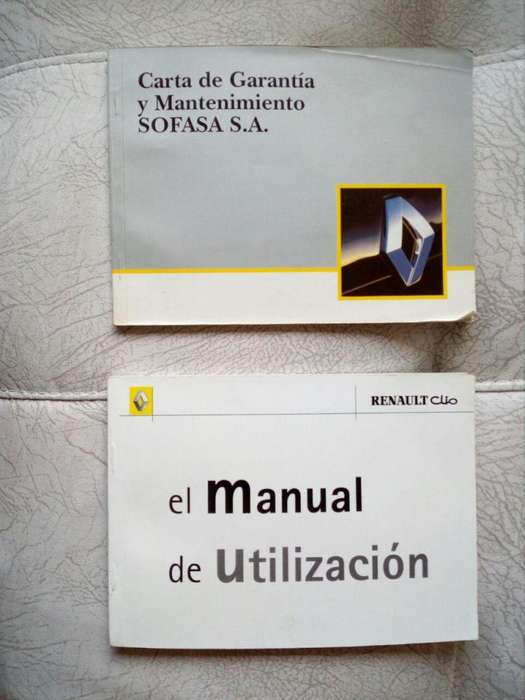 <strong>manual</strong>es Originales Renault Clío 20012010