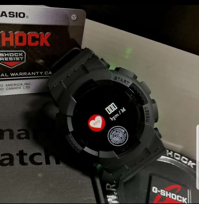 Smartwatch Tipo G-shock Sumergible.