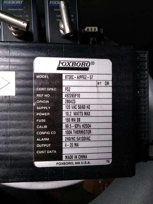 Analizador de Conductividad Foxboro