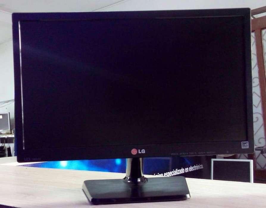 Monitor marca LG, LED en full estado, full imagen