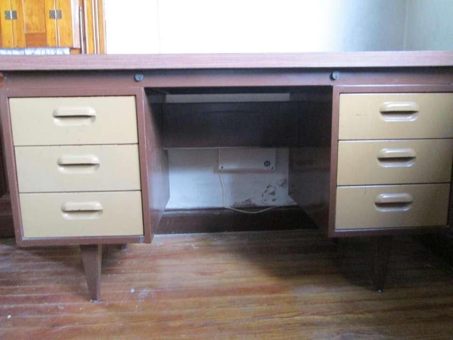 <strong>escritorio</strong> metálico 6 cajones
