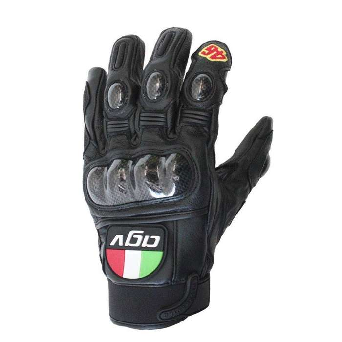 Guantes De Piel Para Motocicleta-moto Gp Agv Vr46 Rossi