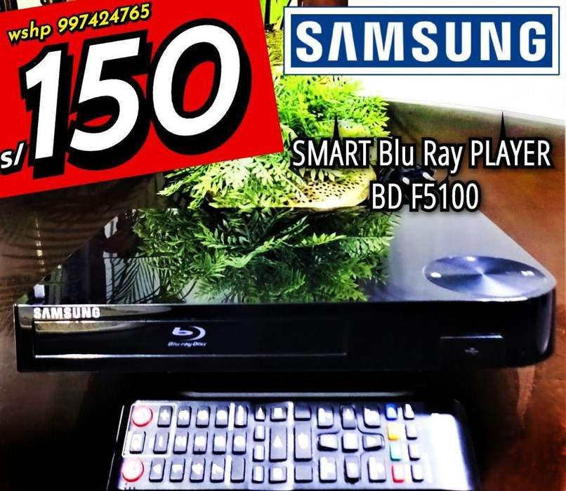 Blu Ray Samsung Smart Player Bd F5100 Conservado