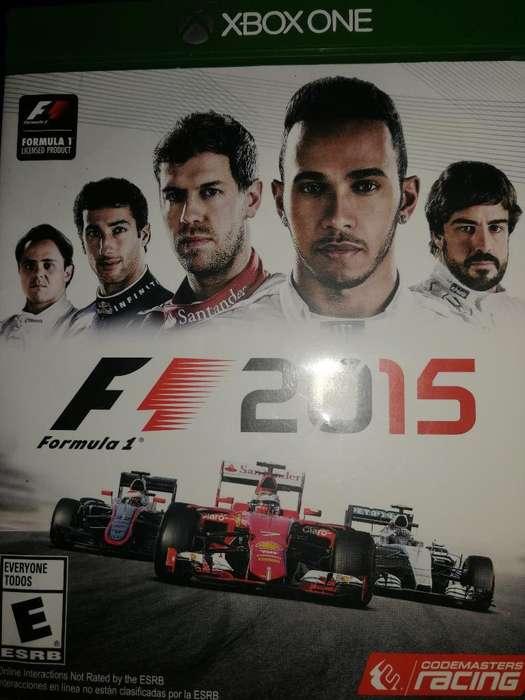 Vendo Juego Xbox One Fórmula 1 2015