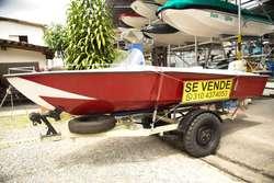 Vendo Lancha con Motor Evinrude 50 HP