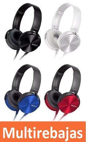 Audífonos Sony MDR XB 450 AP