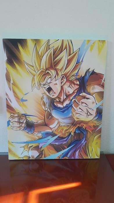 Cuadro Dbz Goku Super Saiyan