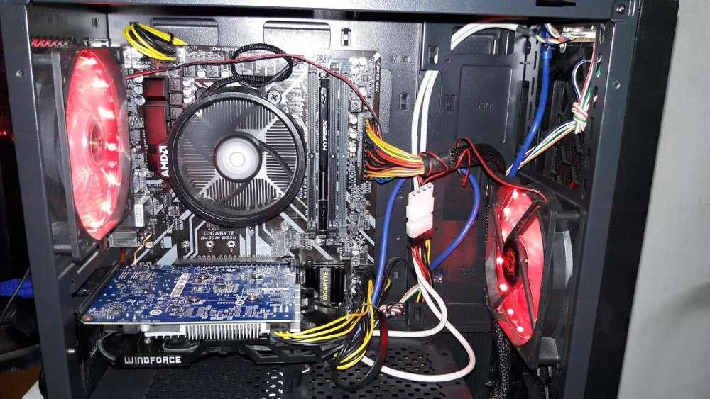 COMPUTADORA RYZEN 5 AMD GAMER NUEVA