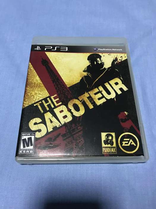 THE SABOTEUR...PS3 GAME