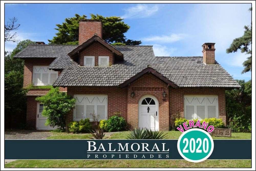 Ref: 8781 - Casa en alquiler, Pinamar, Zona Golf Viejo
