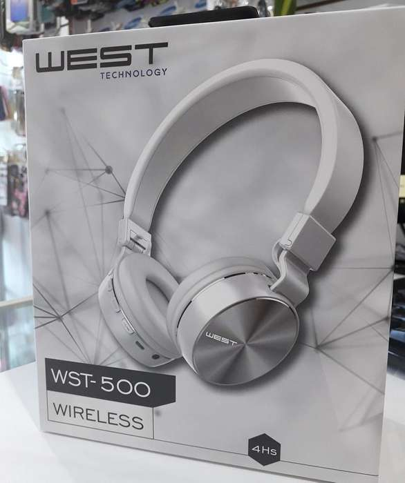 Auricular vincha <strong>bluetooth</strong> Wst500 cable auxiliar West