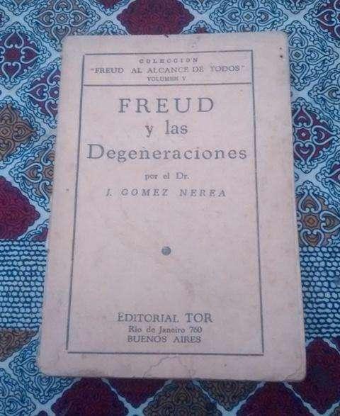 Libro Antiguo Freud Y Las Degeneraciones