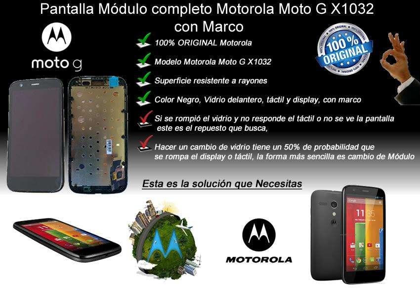 Repuesto Modulo Lcd Pantalla Motorola Moto G Xt1302 Xt1040
