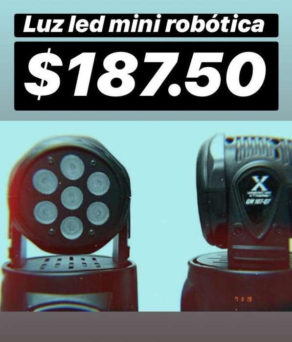 Luz Led Mini Robotica