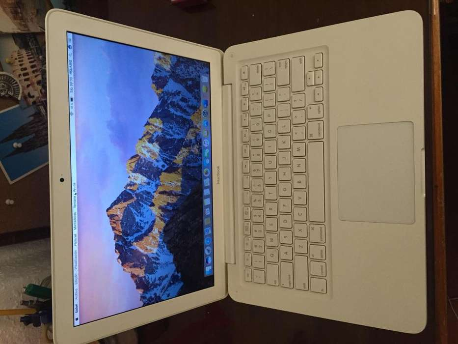 Macbook 500gb / 6gb ram /venta o cambio