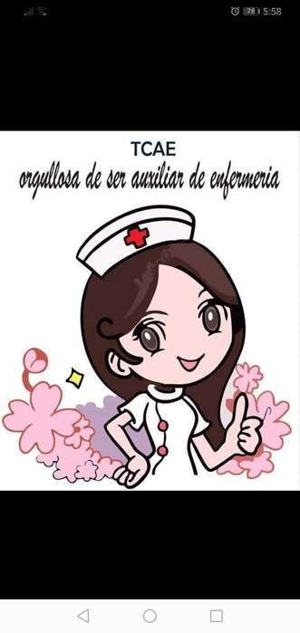 Aux. de Enfermeria Busco Trabajo