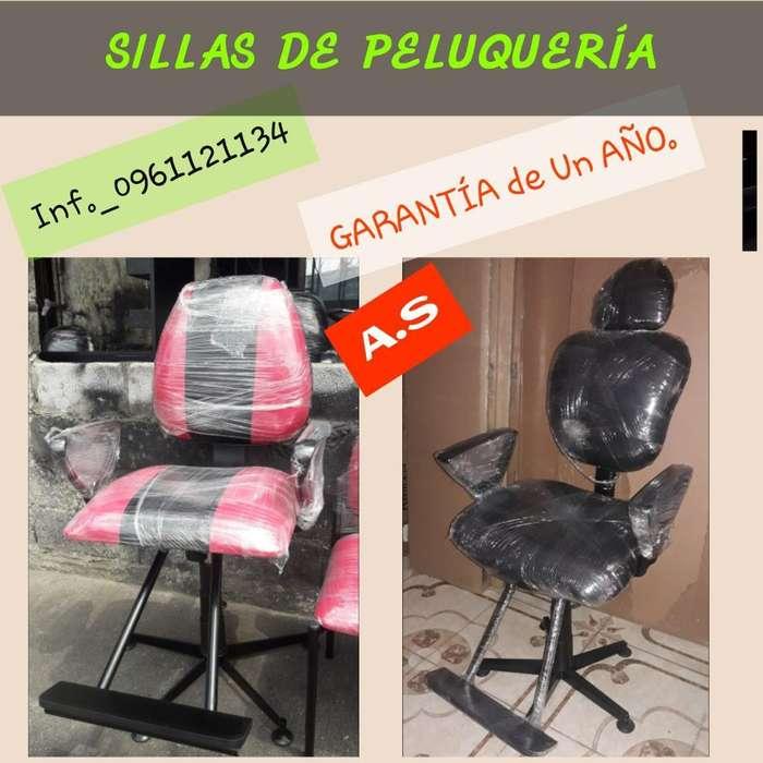 Oferta Sillas de Peluquería 0961121134