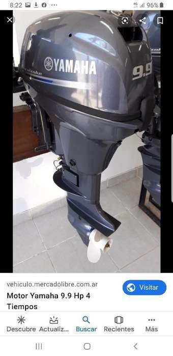 Bote Y Motor Yamaha 9.9 Pata Corta.