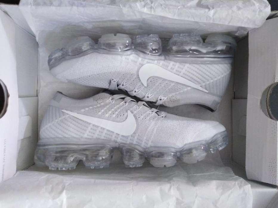 370 Soles Nike Vapormax Color Grey 2018