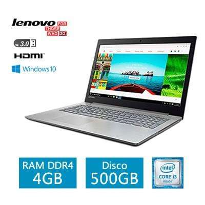 LAPTOP LENOVO IDEAPAD 320 15.6 CORE I37100U 2.4GHZ 4GB DDR4 500GB DVD
