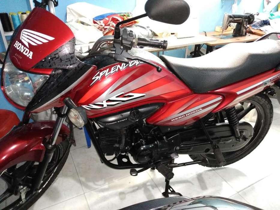 Vendo Moto Honda Splendor Nxg