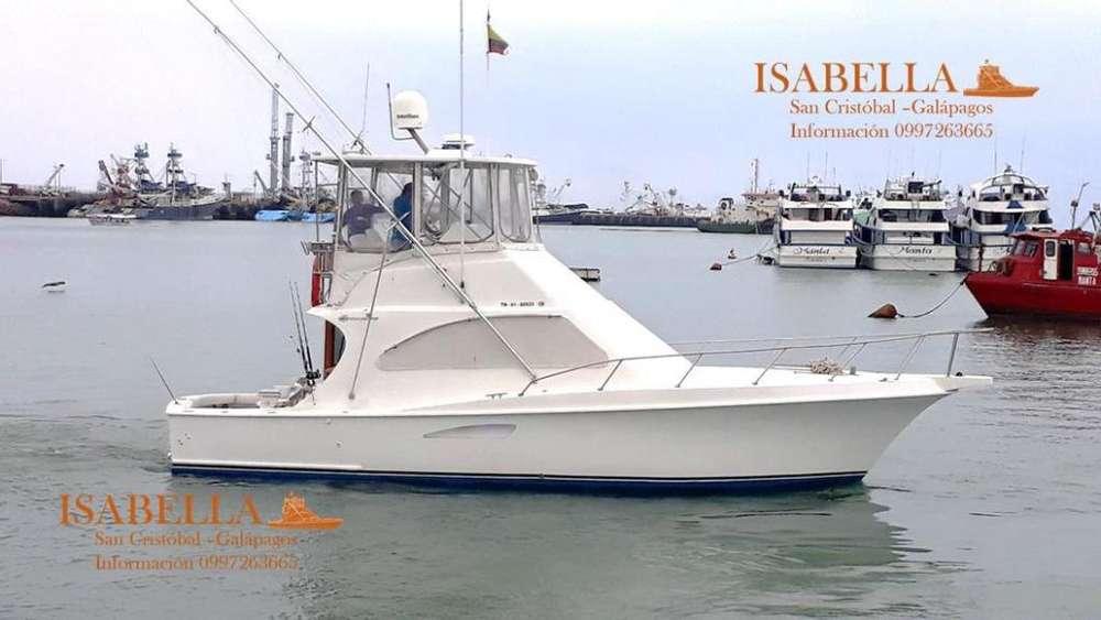 Yate para Pesca Deportiva y Paseo en perfecto estado