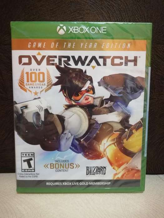 Overwatch Goty Juego Original Xbox One