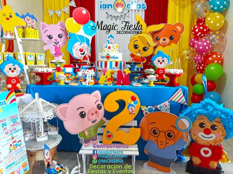 Decoracion Con Globo Fiestas Infantiles Ecuador Servicios