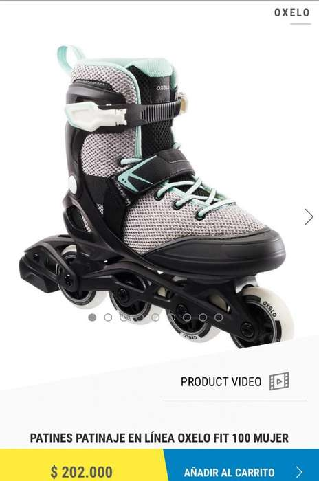 Patines Oxelo Talla Usa 8 Mujer