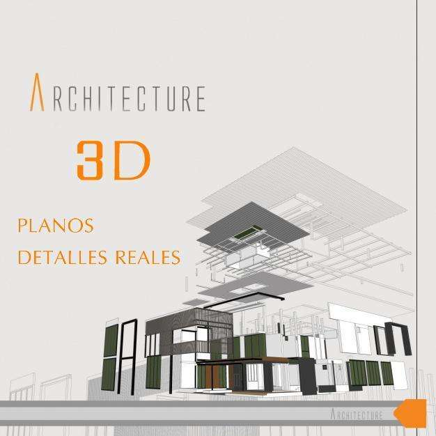 modelado 3d, render, paseo virtual, foto realismo, planos