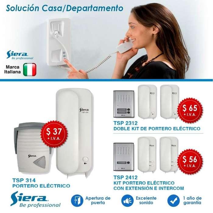 CITOFONO /PORTERO ELECTRCIO /CONTROL DE ACCESO/CHAPAS ELECTRICAS /VIDEO PORTERO