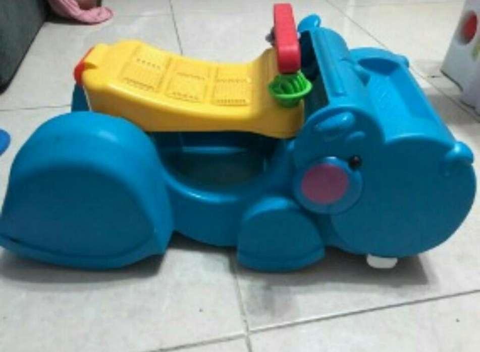 Vendo Hipopotamo Caminador Fisher Price