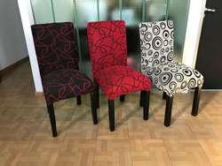 Mesa de 1,60x80 6 sillas