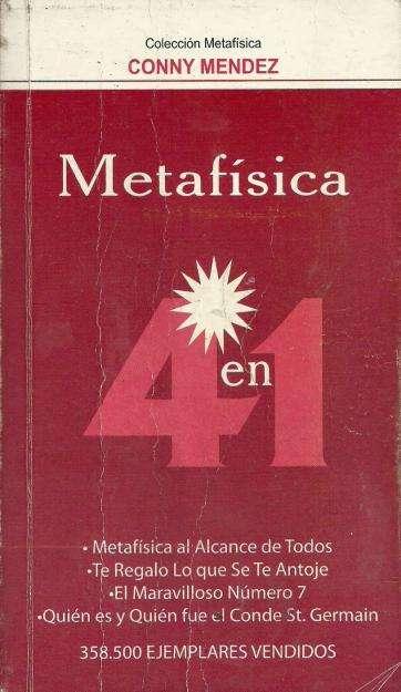 Metafisica 4 en 1 de Conny Mendez. Libro usado.