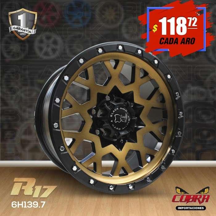 Aro Rin 17 Camionetas Luv Dmax Toyota Hilux Mazda Bt505646546