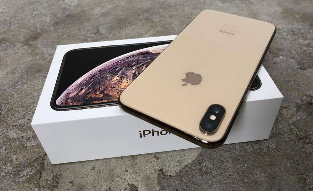 iPhone XS MAX GOLD DE 64 GIGAS